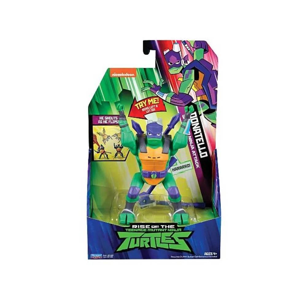 Rise of the Teenage Mutant Ninja Turtles deluxe elektronisch figuur Donnie