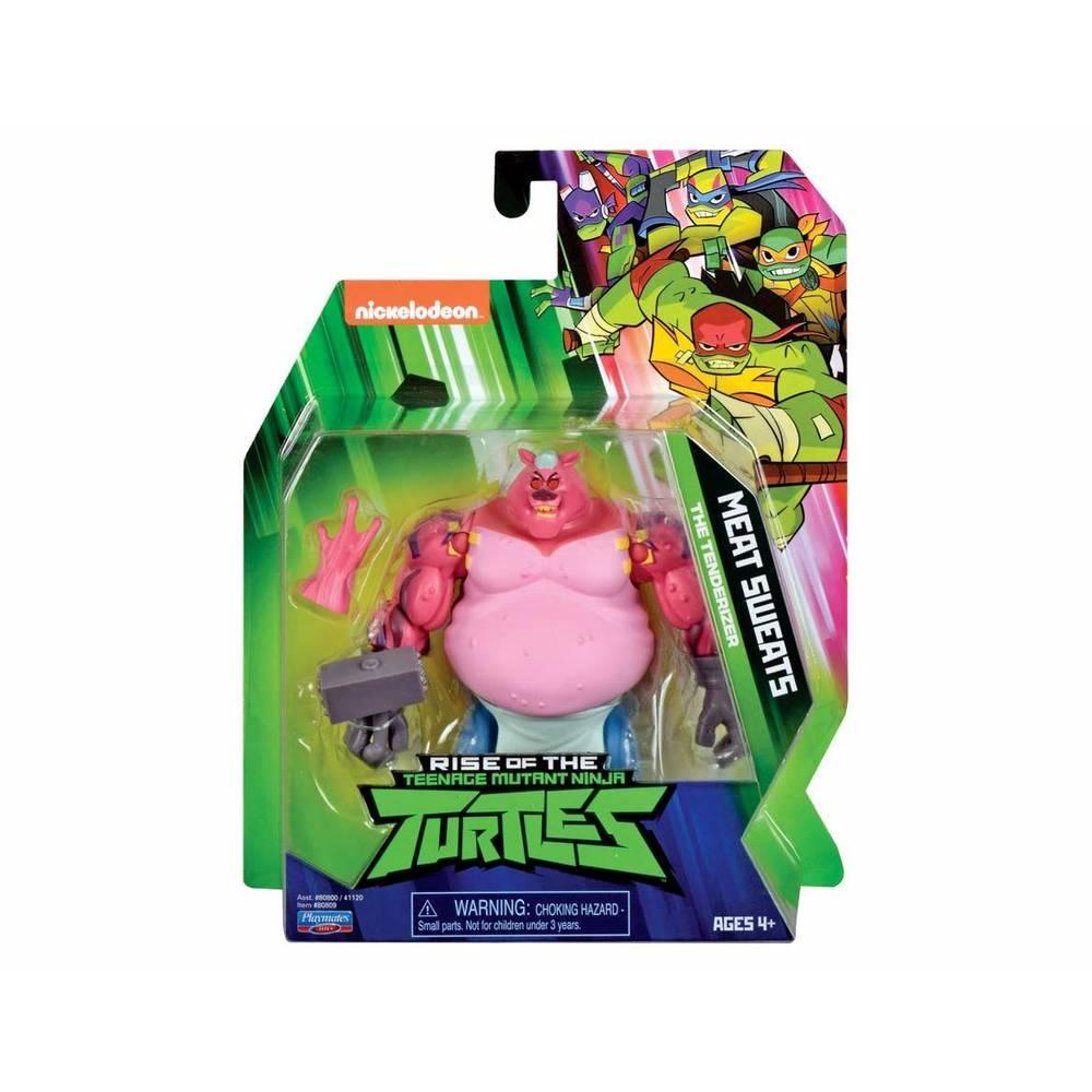 Rise of the Teenage Mutant Ninja Turtles beweegbaar figuur Meat Sweats The Tenderizer