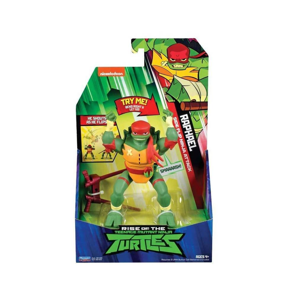 Rise of the Teenage Mutant Ninja Turtles deluxe elektronisch figuur Raph