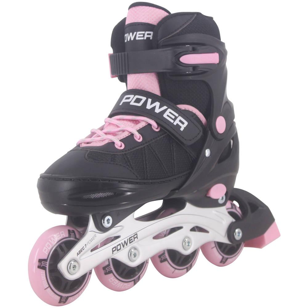 Inline skates Power - maat 30-33 - roze