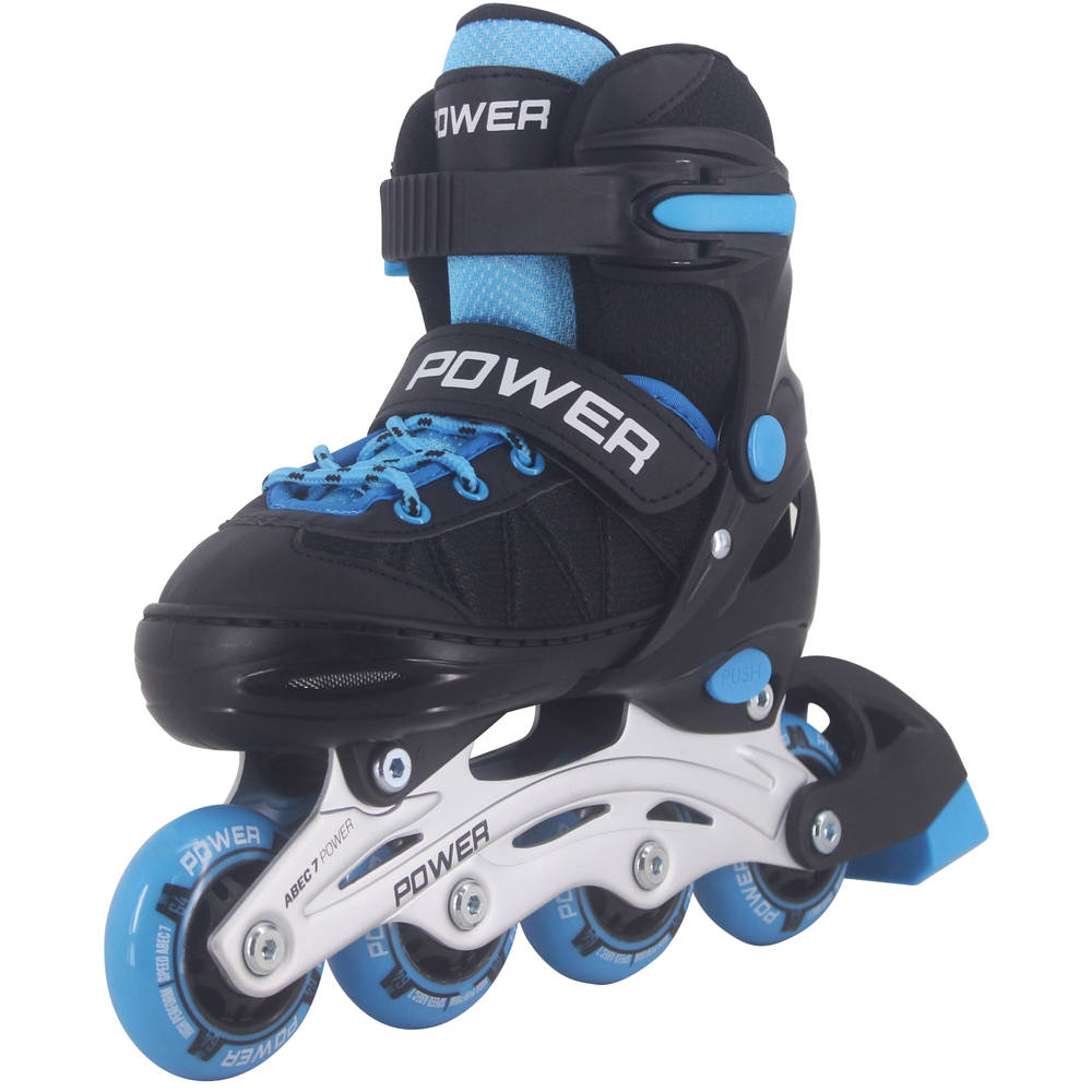Inline skates Power - maat 34-37 - blauw