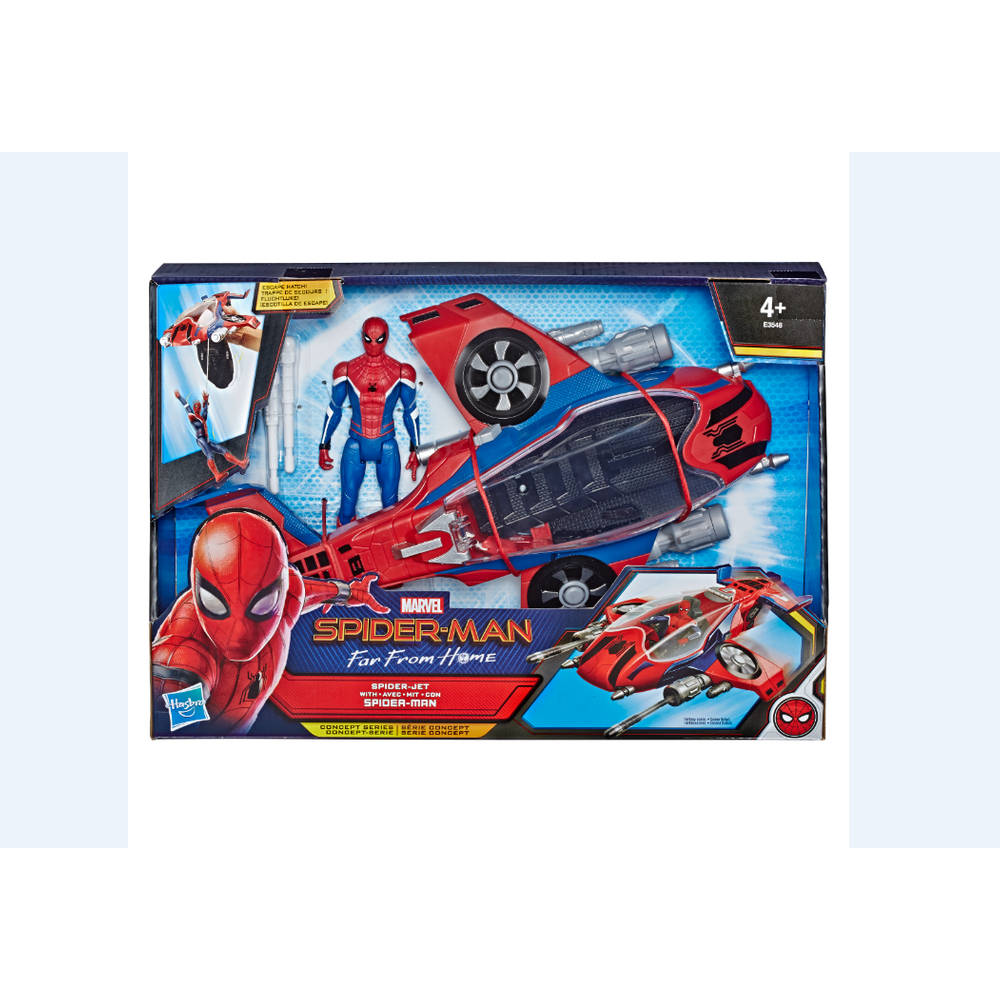 Spider-Man: Far From Home Spider Jet voertuig met actiefiguur