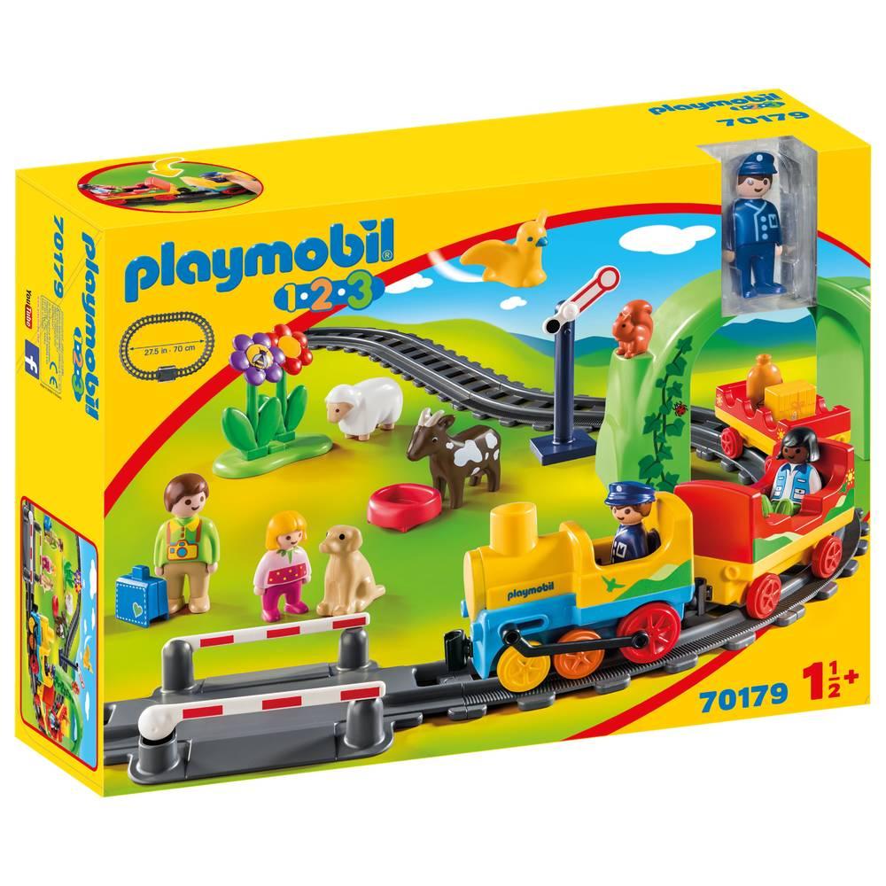 PLAYMOBIL 1.2.3 mijn eerste treinset 70179