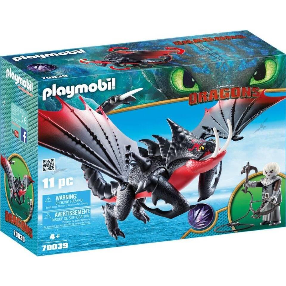 PLAYMOBIL Dragons Dodenklauw en Grimmel 70039