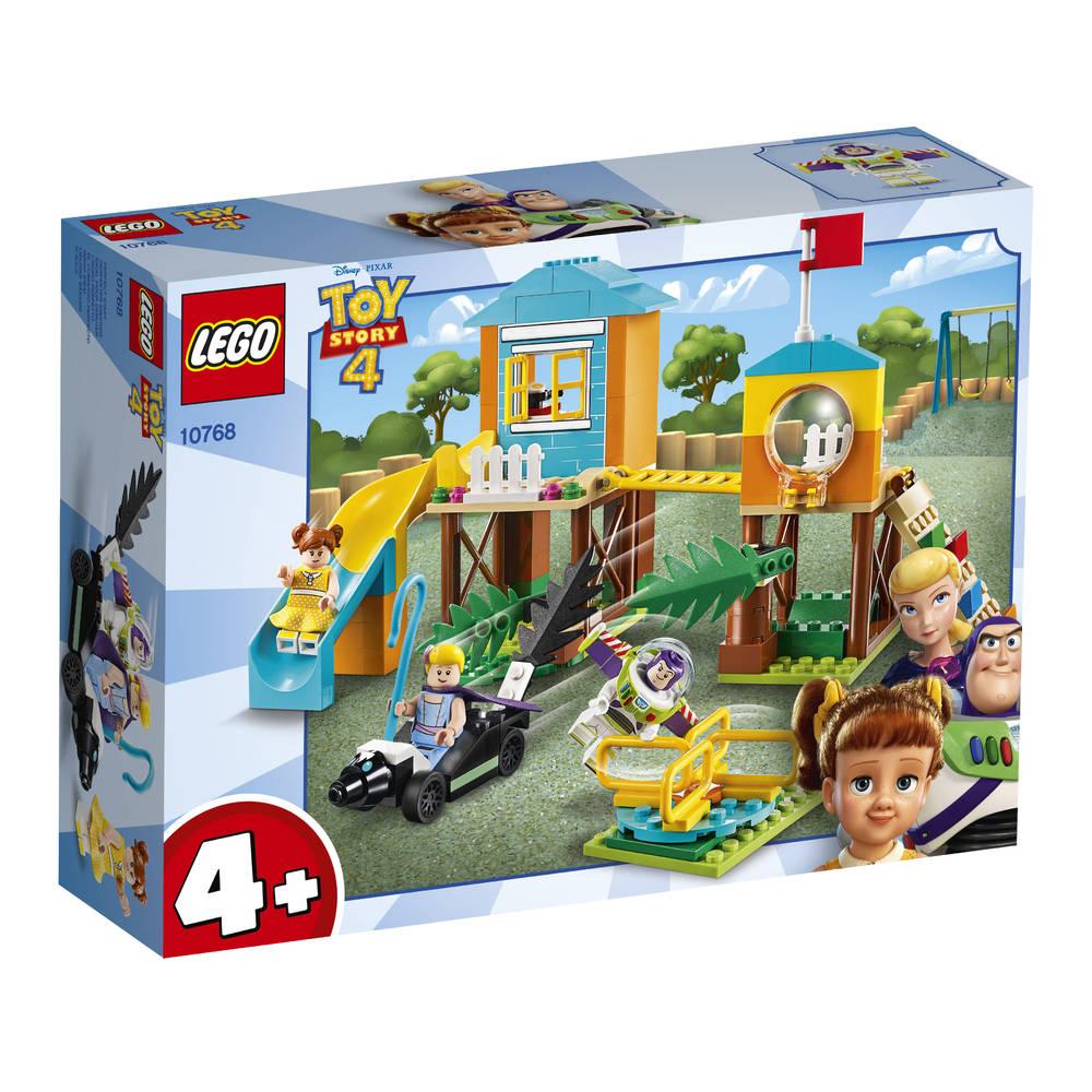LEGO Toy Story 4 speeltuinavontuur van Buzz en Bo Peep 10768