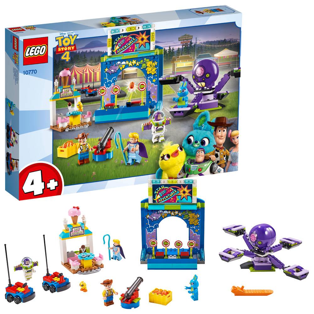 LEGO Toy Story 4 Buzz en Woody op de kermis 10770