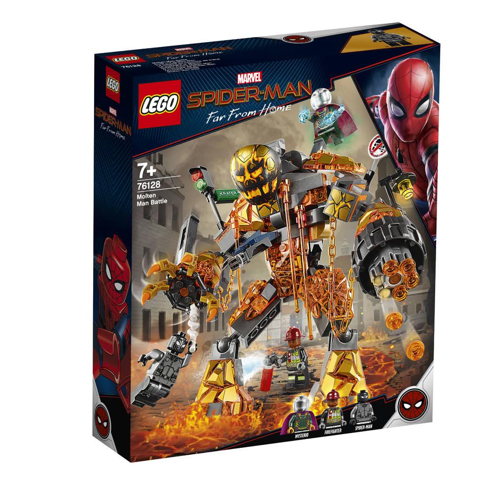 LEGO Marvel Super Heroes Molten Man's duel 76128
