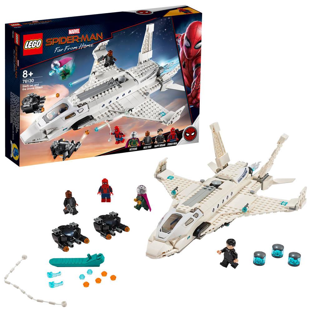 LEGO Marvel Super Heroes Starkstraaljager en de droneaanval 76130
