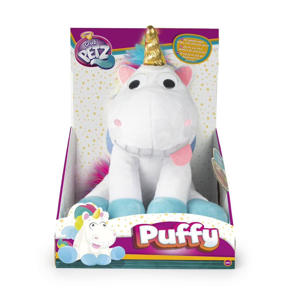 Club Petz knuffel eenhoorn Puffy