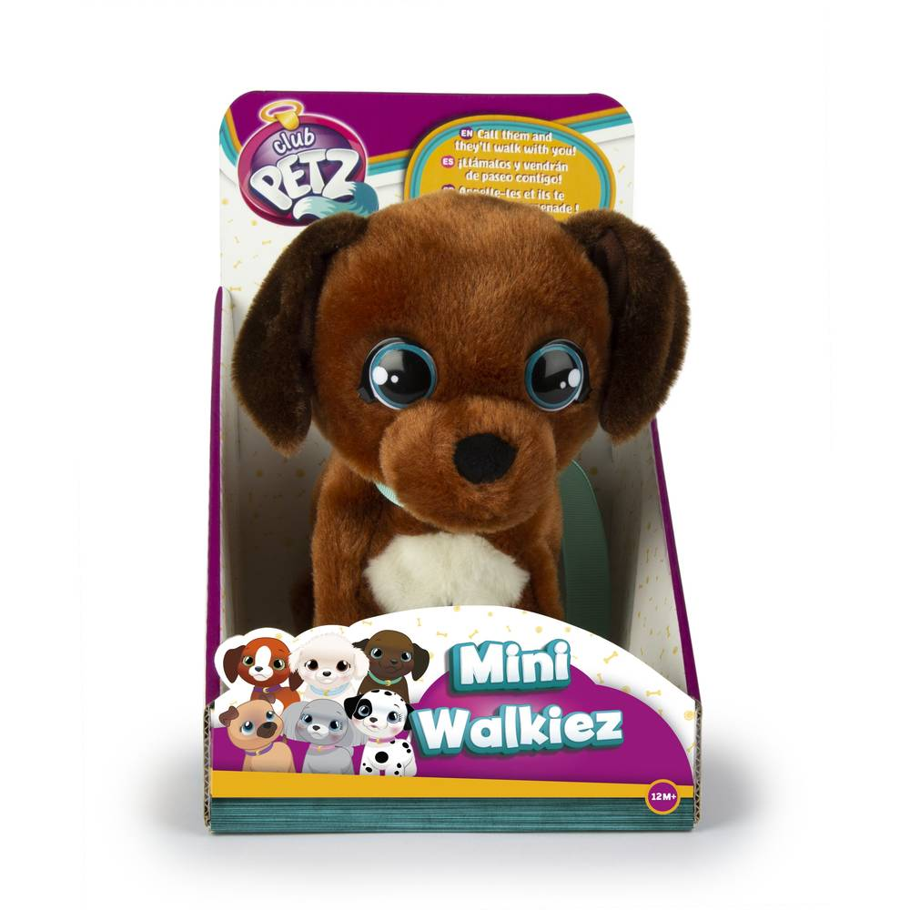 Club Petz Mini Walkiez knuffel hond Chocolab