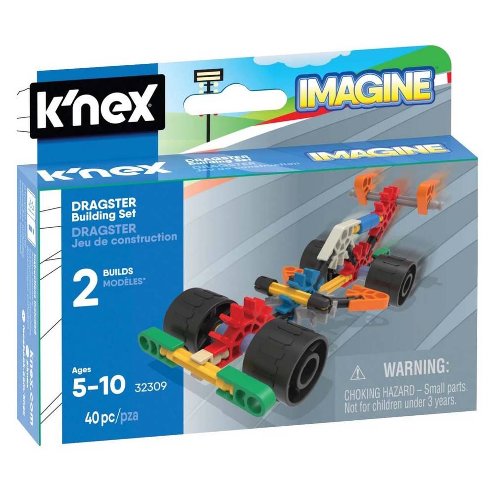 K'NEX Imagine dragster bouwset - 40 stukjes