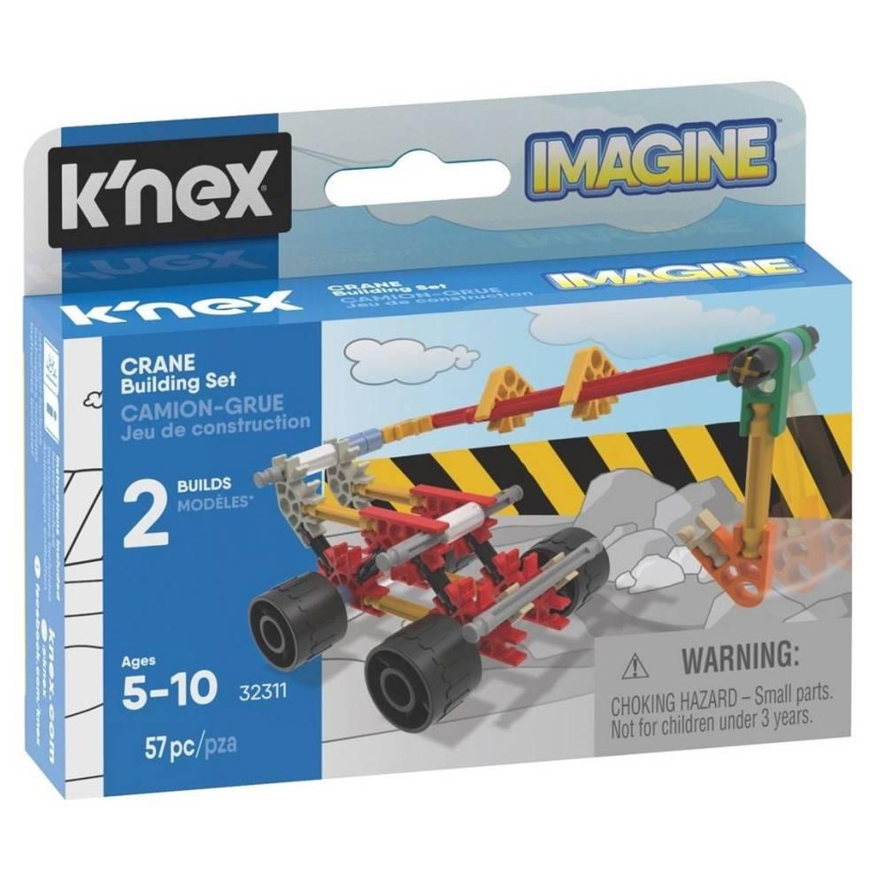 K'NEX Imagine hijskraan bouwset - 57 stukjes