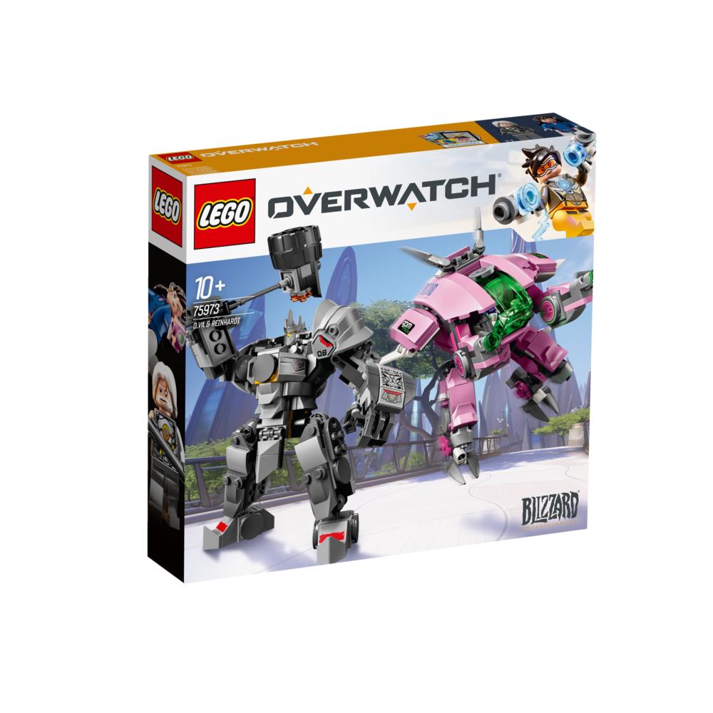 LEGO Overwatch D.Va en Reinhardt 75973