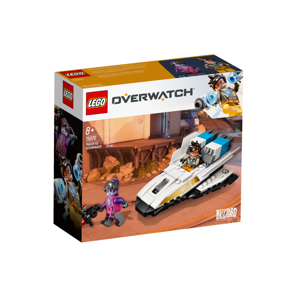 LEGO Overwatch Tracer vs. Widowmaker 75971