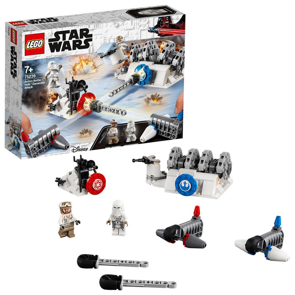 LEGO Star Wars Action Battle aanval op de Hoth Generator 75239