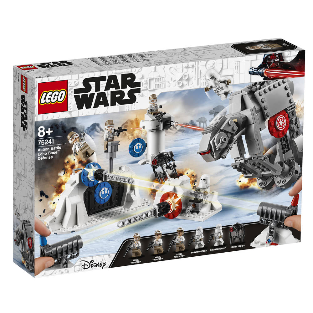 LEGO Star Wars Action Battle verdediging van Echo Base 75241