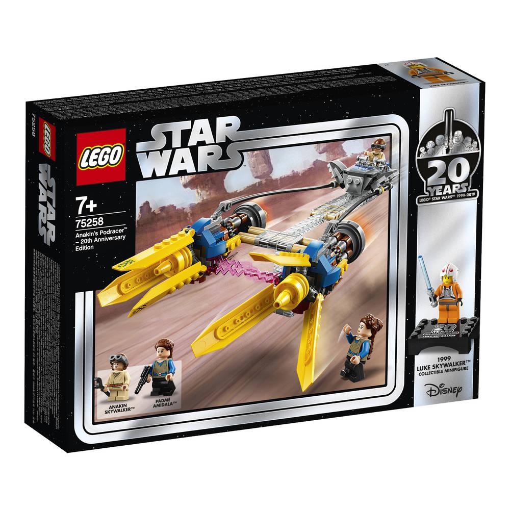 LEGO Star Wars Anakins podracer 20-jarig jubilieum editie 75258
