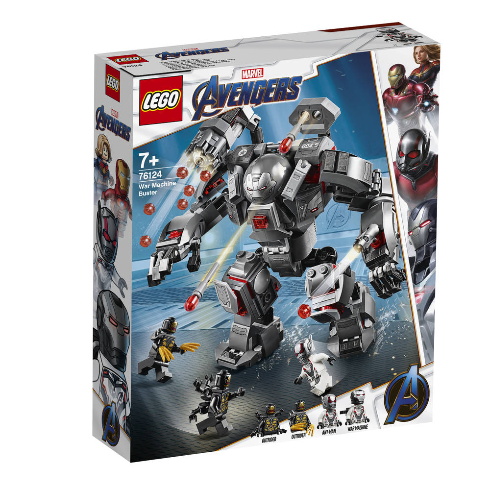 LEGO Avengers: Endgame War Machine buster 76124
