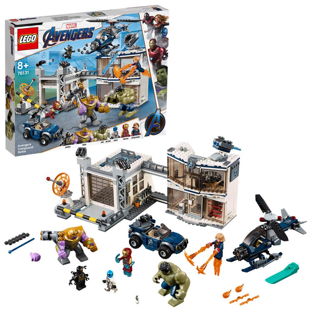 LEGO Avengers: Endgame strijd bij de basis van de Avengers 76131