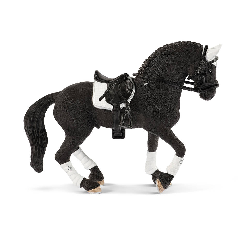 Schleich Friese hengst paardenwedstrijd 42457