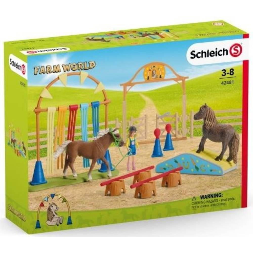 Schleich pony behendigheidstrainingset 42481