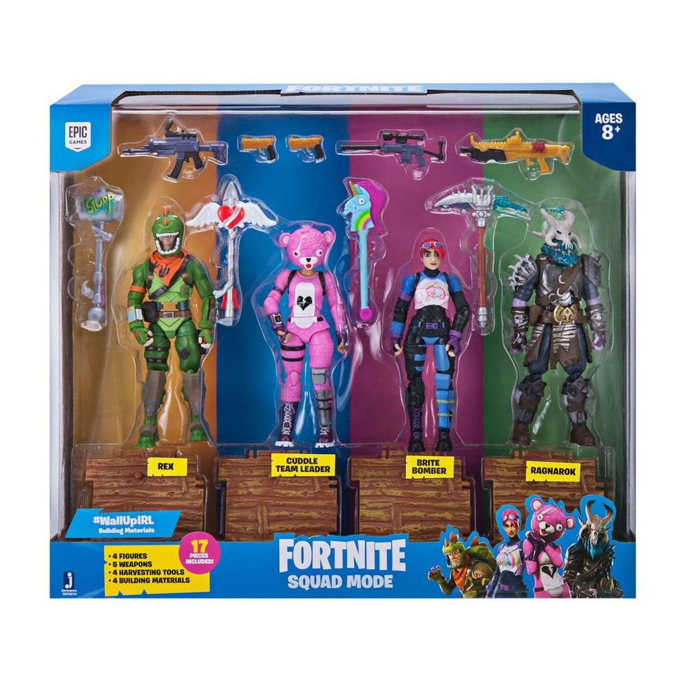 Fortnite Squad Mode Core figurenset