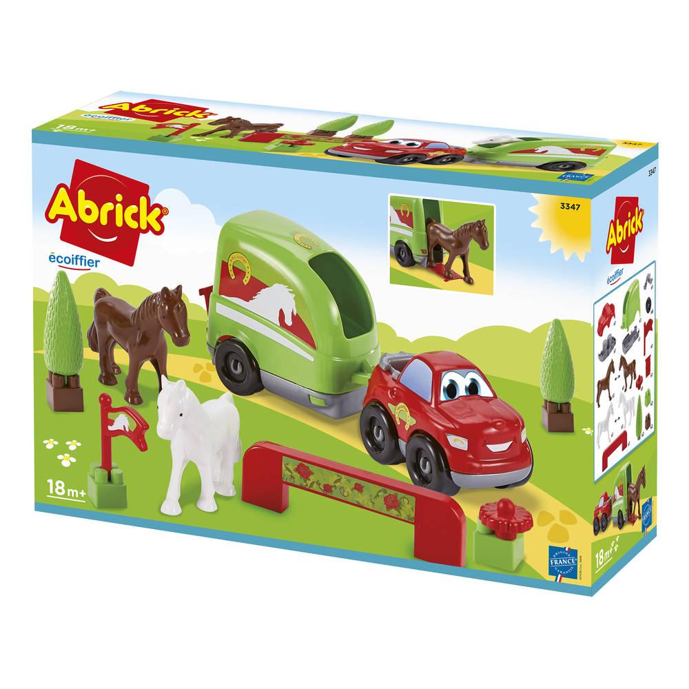 Abrick paardentrailer