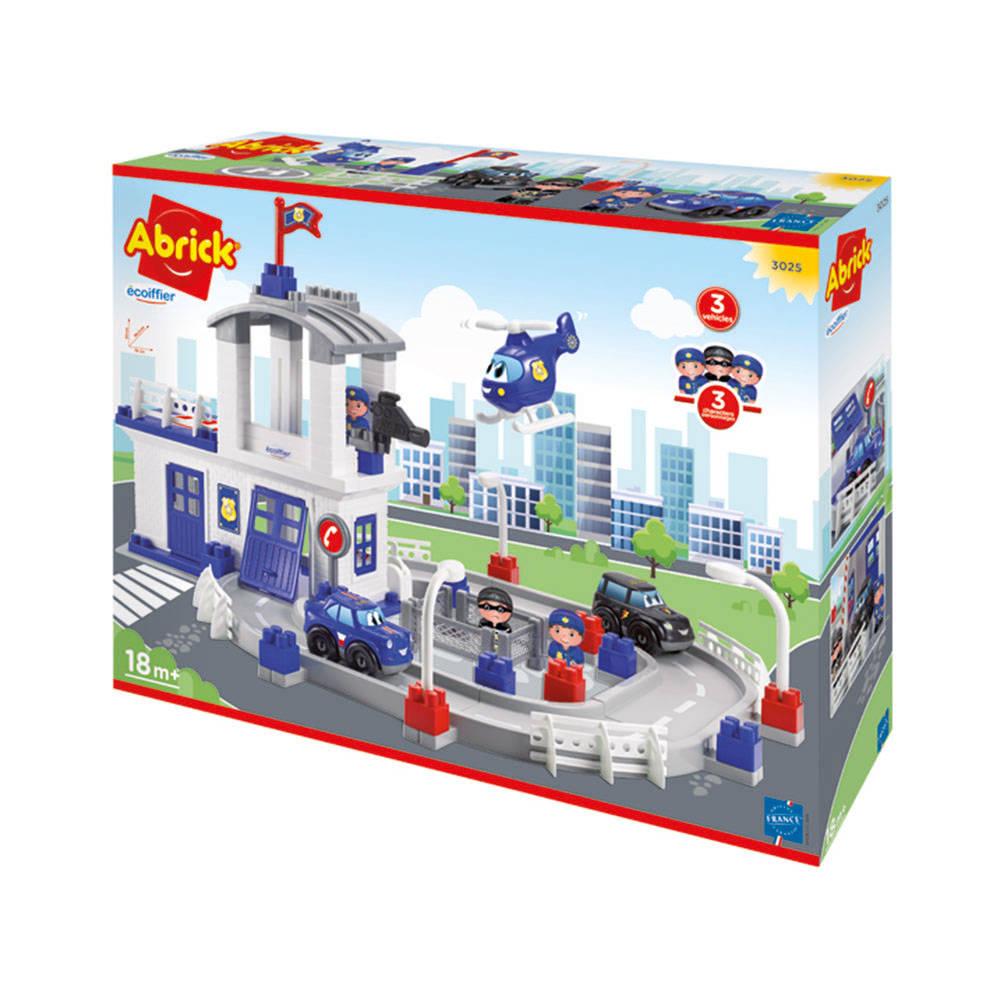 Abrick politieset met voertuigen