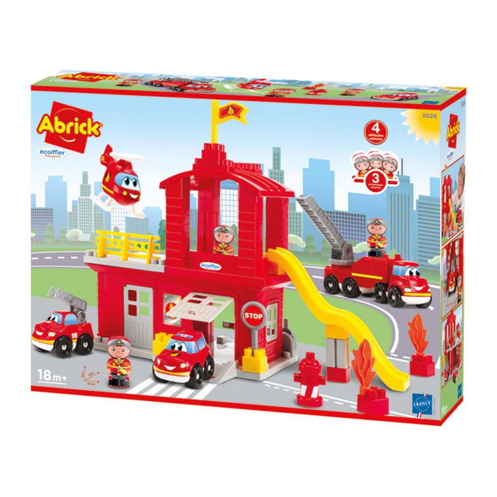 Abrick brandweerkazerne set