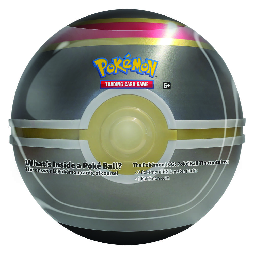 Pokémon TCG Pokéball luxury tin