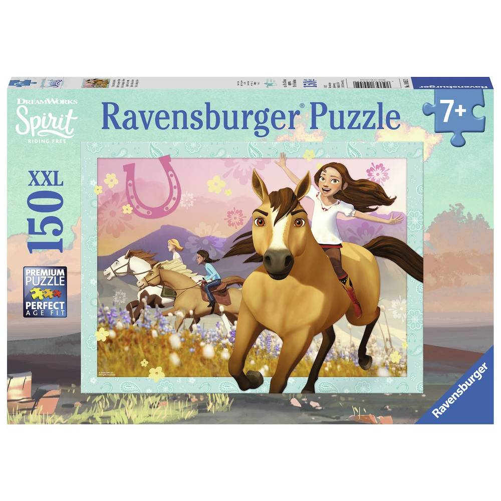 Ravensburger puzzel Spirit wild en vrij - 150 stukjes
