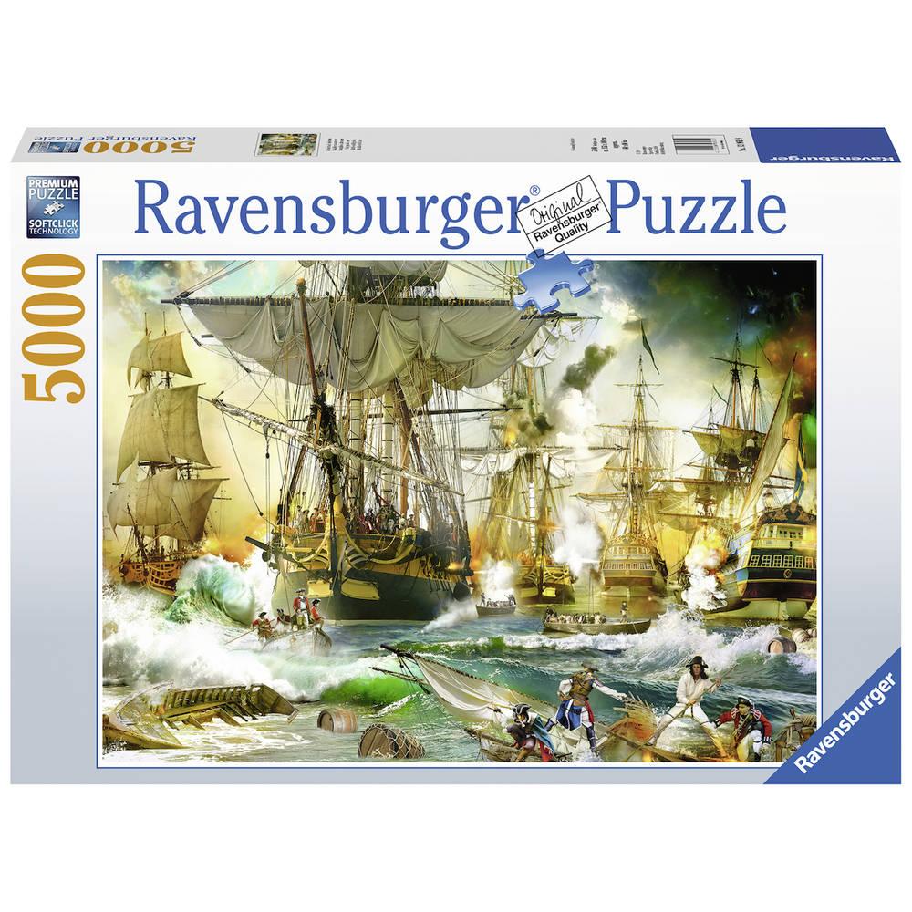 Ravensburger puzzel gevecht op de hoge zee - 5000 stukjes