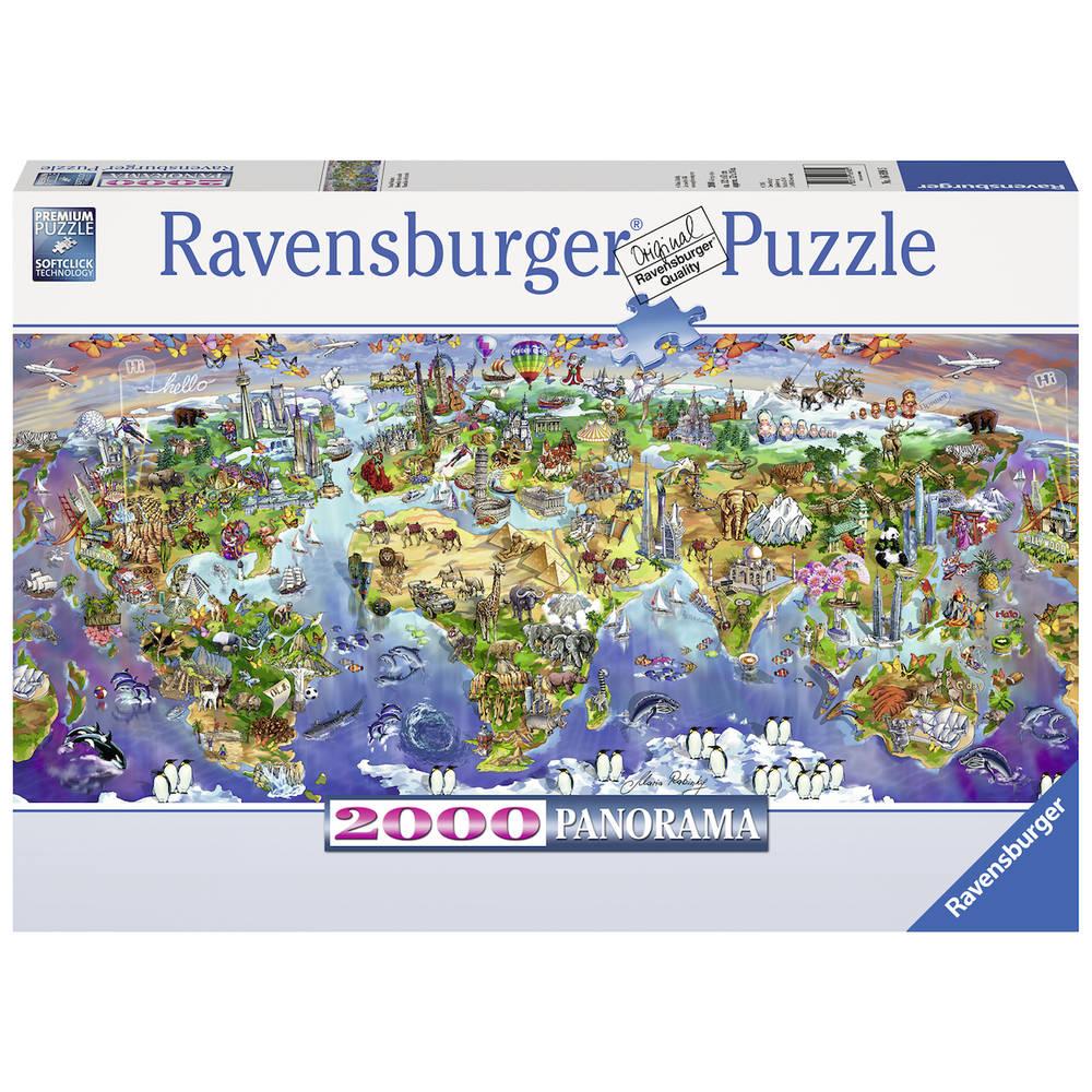 Ravensburger puzzel wereldwonderen - 2000 stukjes