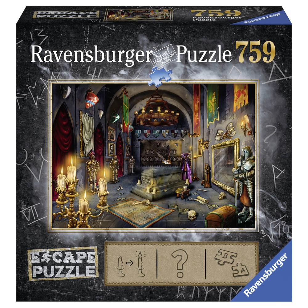 Ravensburger Escape puzzel 6: in het vampierenslot - 759 stukjes