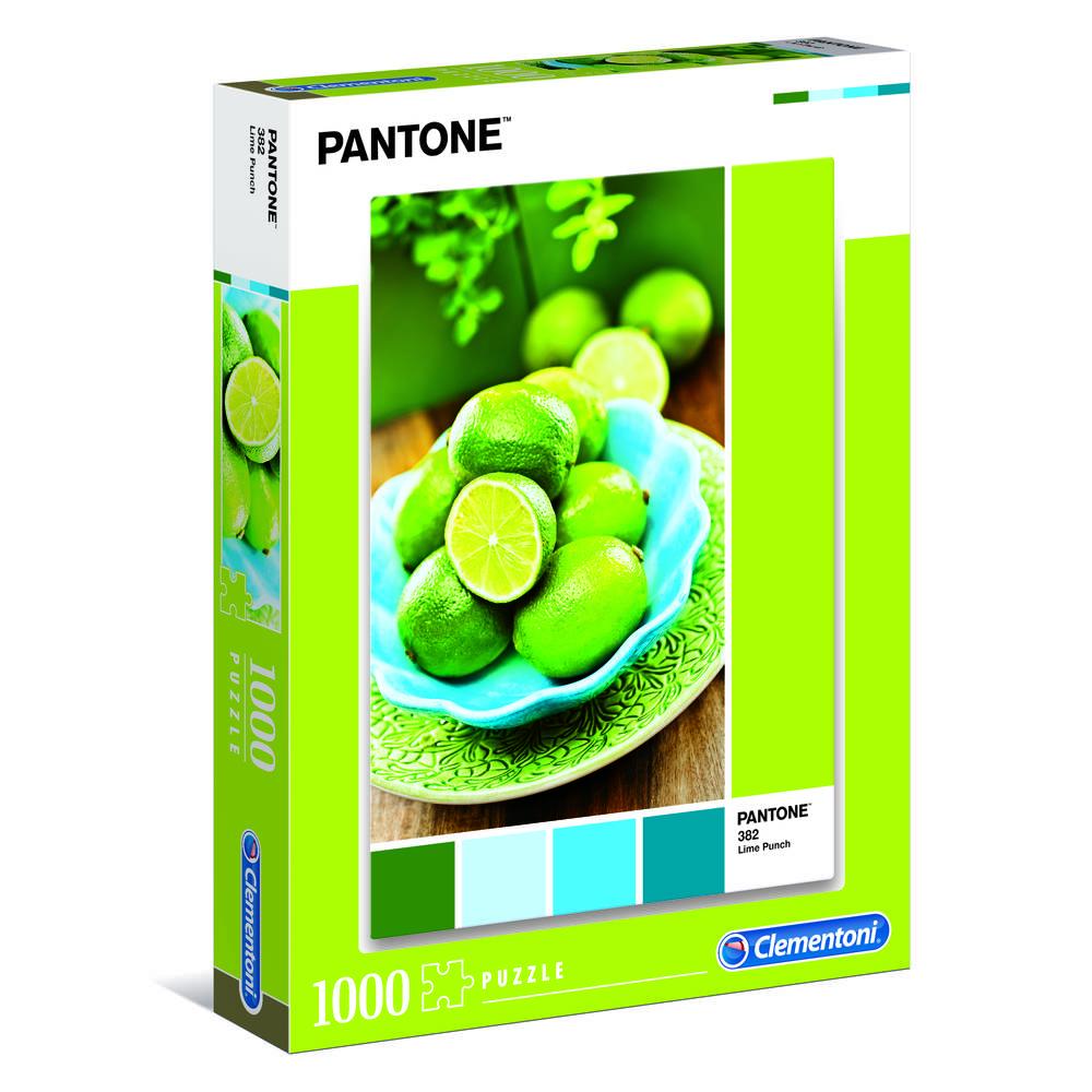 Clementoni puzzel Pantone Lime Punch - 1000 stukjes