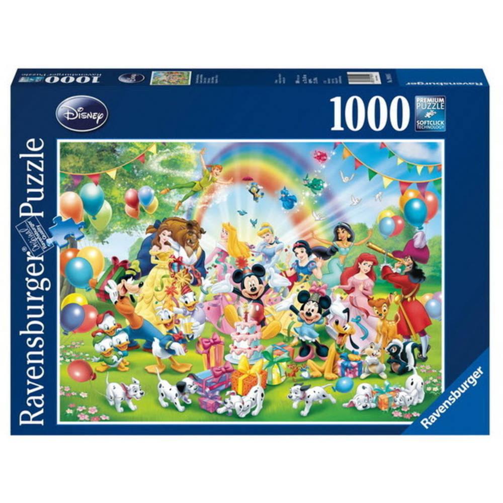 Ravensburger puzzel Disney Multi Property - 100 stukjes