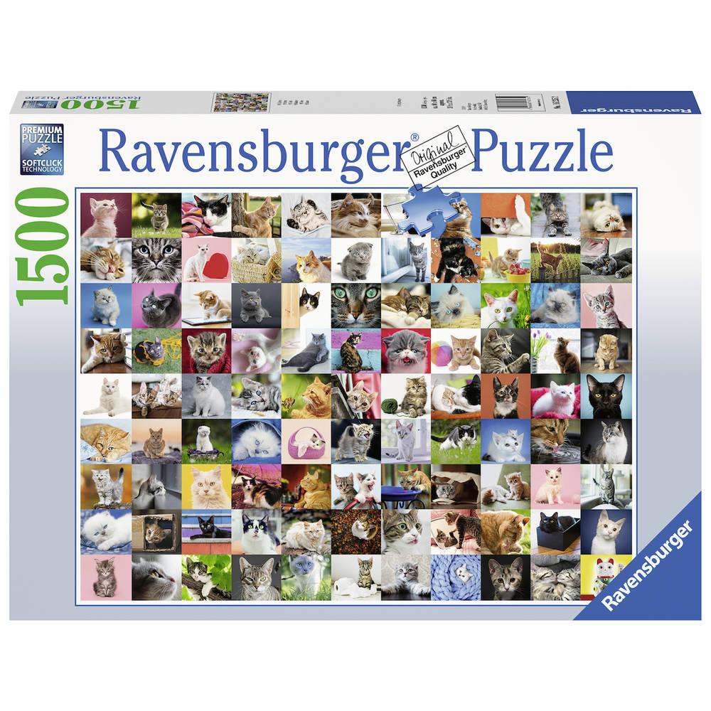 Ravensburger puzzel 99 katten - 1500 stukjes