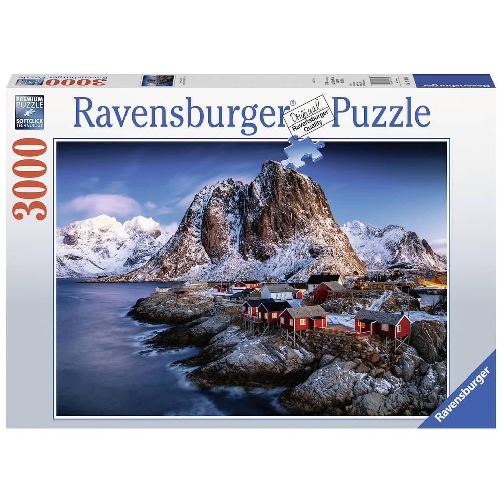 Ravensburger puzzel Hamnoy Lofoten - 3000 stukjes