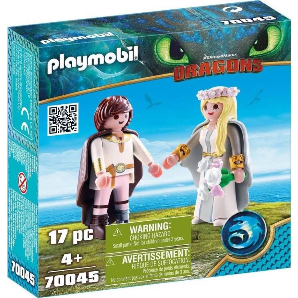 PLAYMOBIL Dragons Hikkie en Astrid speelset 70045