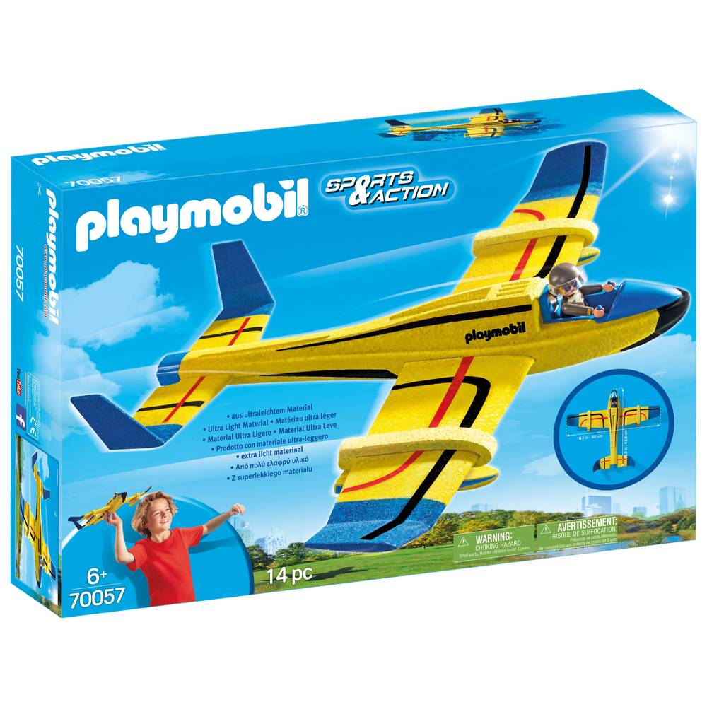 PLAYMOBIL Sports & Action waterzweefvliegtuig 70057
