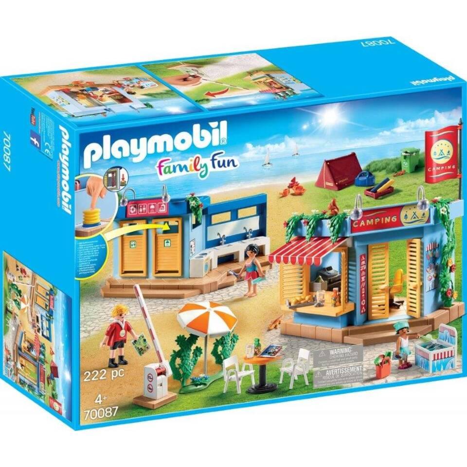 PLAYMOBIL Family Fun grote camping 70087