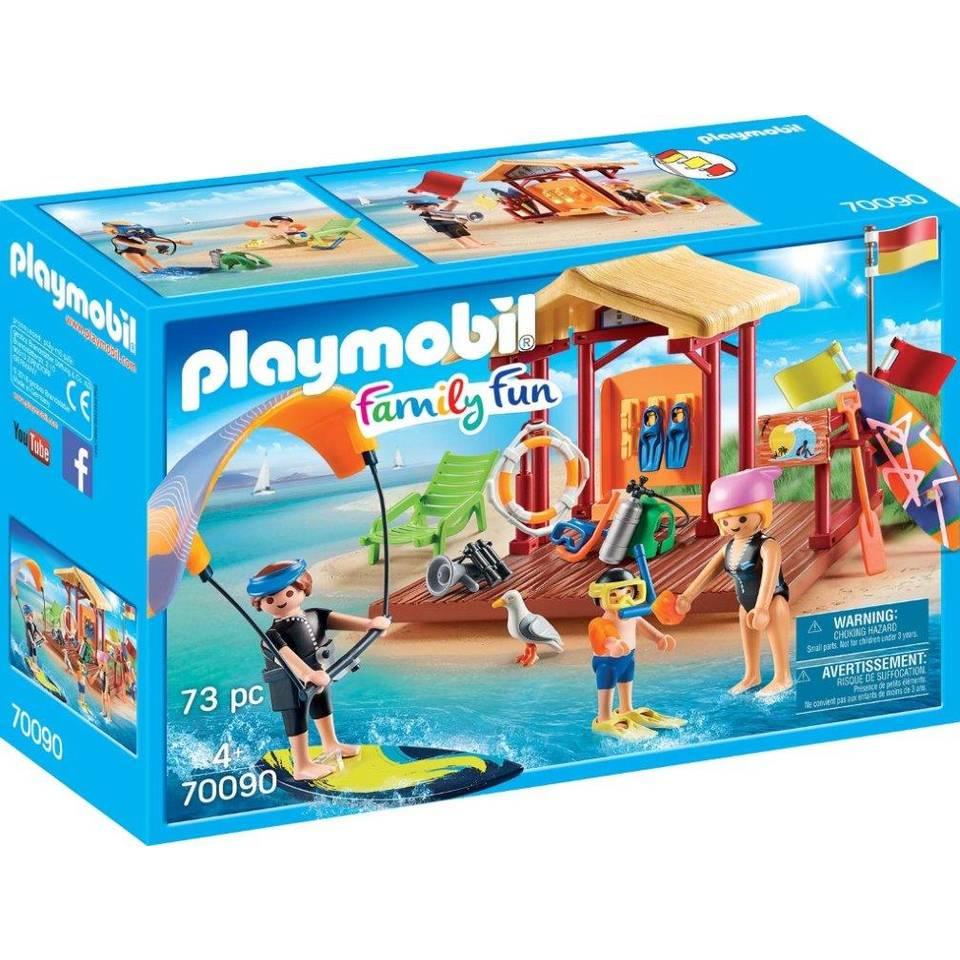 PLAYMOBIL Family Fun watersportschool 70090