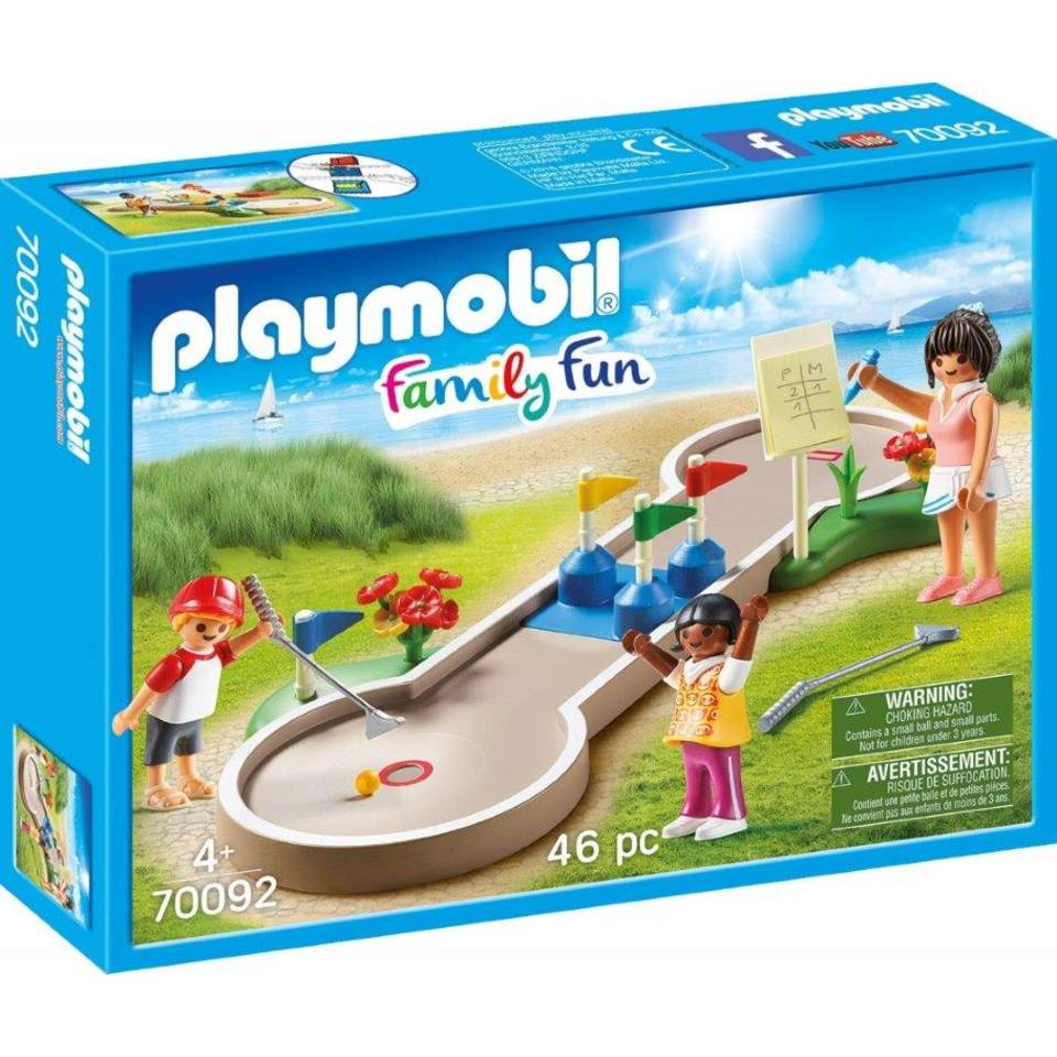 PLAYMOBIL Family Fun minigolf 70092