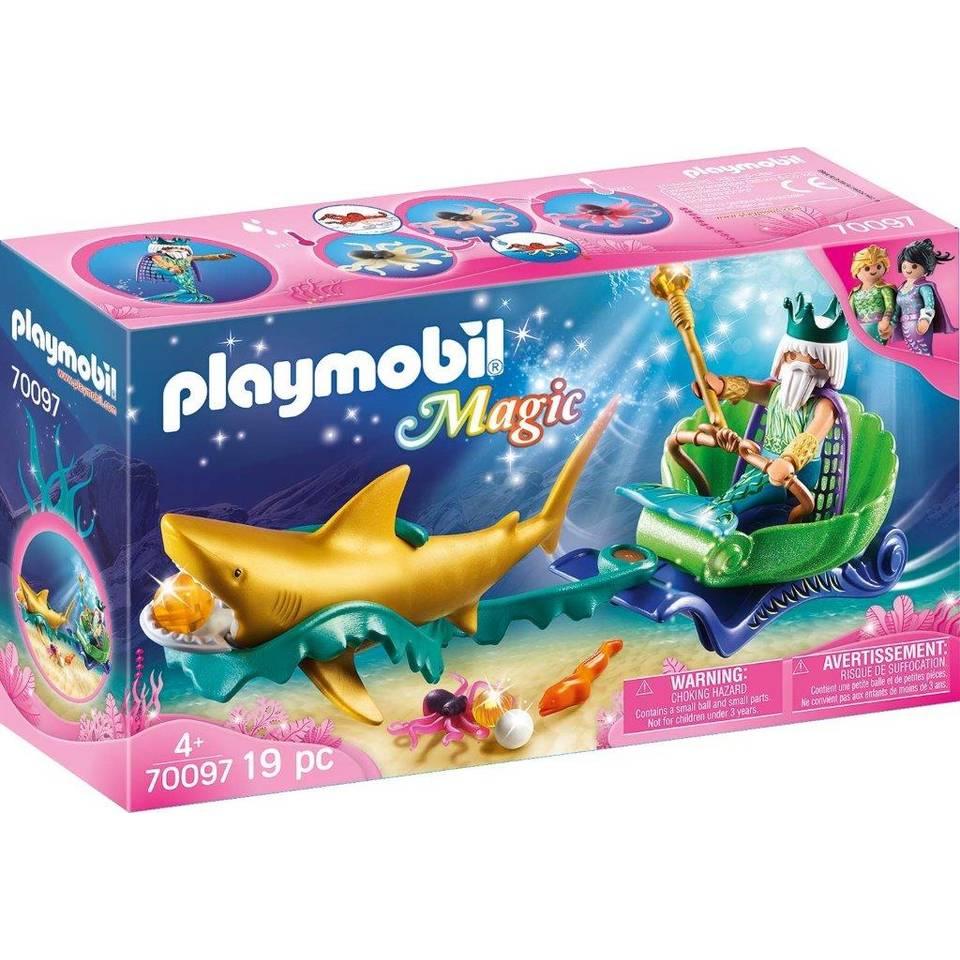 PLAYMOBIL Magic koning der zeeën 70097