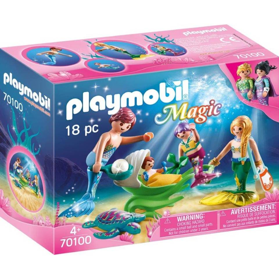 PLAYMOBIL Magic meerminnenfamilie 70100