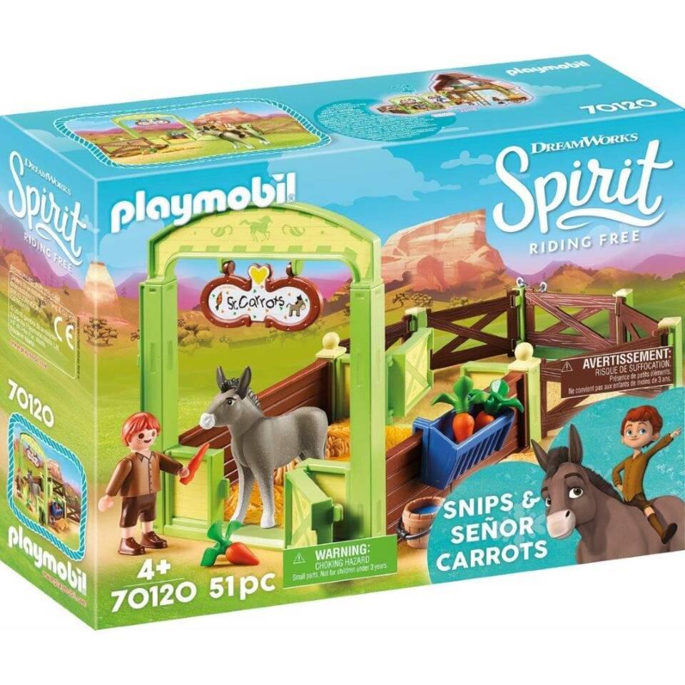 PLAYMOBIL Spirit Knip en meneer Worteltjes 70120