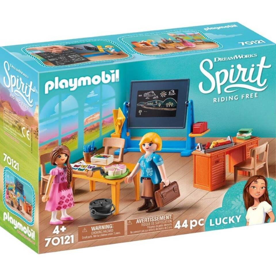 PLAYMOBIL Spirit de klas van mevrouw Flores 70121