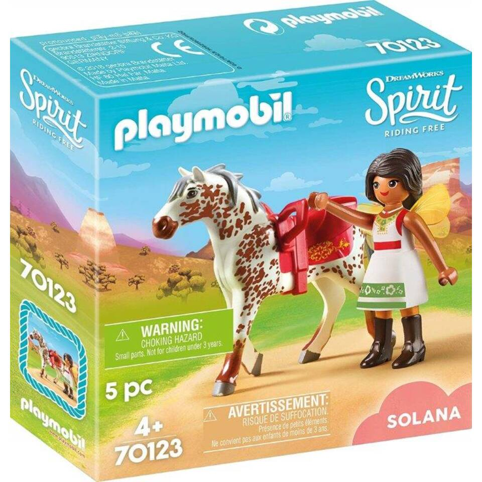 PLAYMOBIL Spirit speelset voltige met Solana 70123