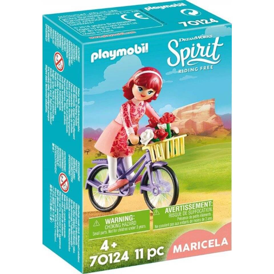 PLAYMOBIL Spirit speelset Maricela met fiets 70124