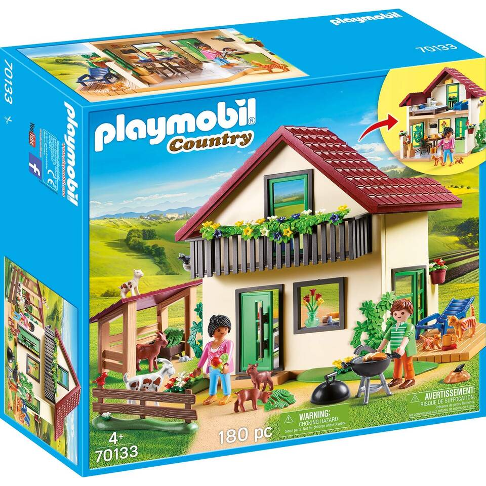 PLAYMOBIL Country moderne hoeve 70133